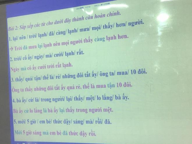 Bài tập hoàn thành câu Tiếng Việt siêu khó, đến người Việt cũng trầm cảm vì sai tới 90% - ảnh 2