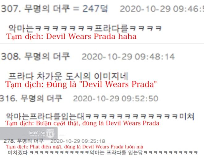 Giữa biển phốt Irene (Red Velvet) và lùm xùm đời tư ChanYeol (EXO), phim The Devil Wears Prada bất ngờ bị réo - ảnh 5