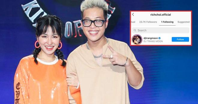Nghi vấn RichChoi (King Of Rap) đang hẹn hò cùng DJ Trang Moon? - ảnh 1