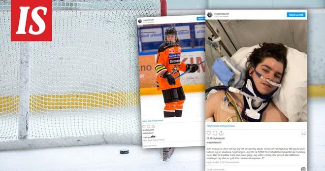 Ngôi sao Hockey bị gãy cổ và bị liệt vĩnh viễn do va chạm với... cột dọc khung thành - ảnh 1