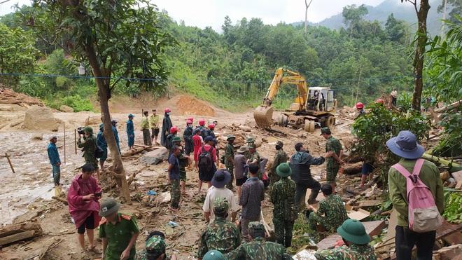 Thêm 1 vụ sạt lở ở Quảng Nam, 1 người mất tích - ảnh 1
