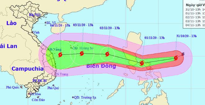 Siêu bão Goni mạnh cấp 17 đang tiến nhanh vào Biển Đông, tâm lại hướng đến vùng biển miền Trung - ảnh 2
