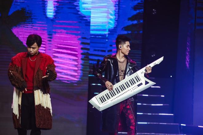 Ngô Kiến Huy mở tiệm giặt ủi trên sân khấu, Đức Phúc rực đỏ, K-ICM và APJ khẳng định giọng hát live sau loạt ồn ào - ảnh 6