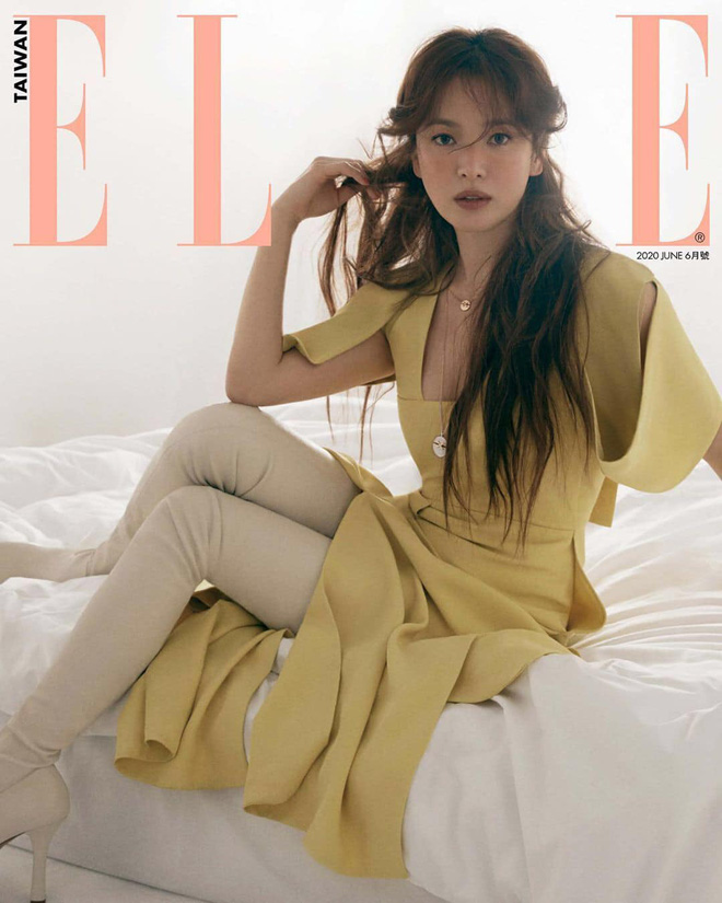 Chẳng cần phải gồng, Song Hye Kyo cứ diện tóc nâu môi nude sương sương là thành nữ hoàng nhan sắc - ảnh 9