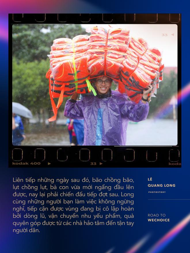 """Chuyện về nhiếp ảnh gia 9X cứu trợ bà con mùa lũ: """"Trong từng cơn tuyệt vọng, người miền Trung đều cố thoát ra để vươn tới những ngày mới tốt đẹp hơn"""" - ảnh 3"""