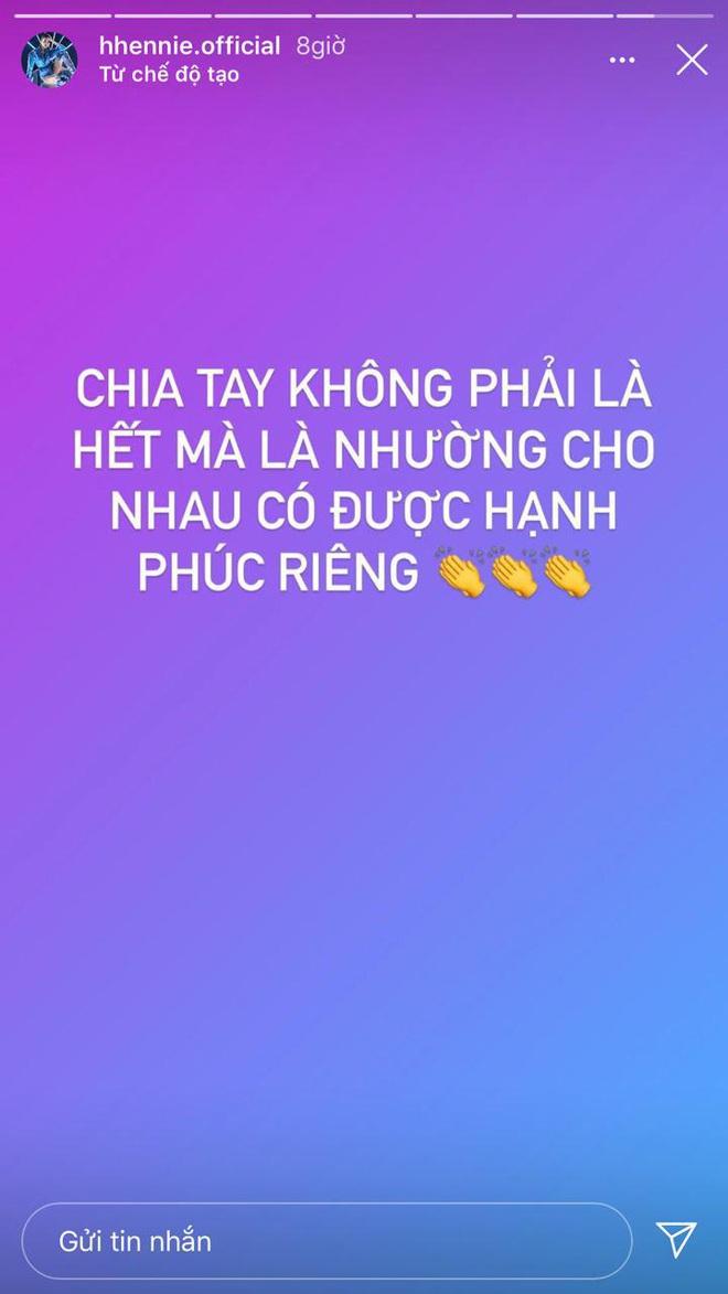 """1 tháng trước còn đưa đi ra mắt hội Hoa hậu, nay H\'Hen Niê chính thức xác nhận đã """"toang"""" với bạn thân Đen Vâu - Ảnh 3."""