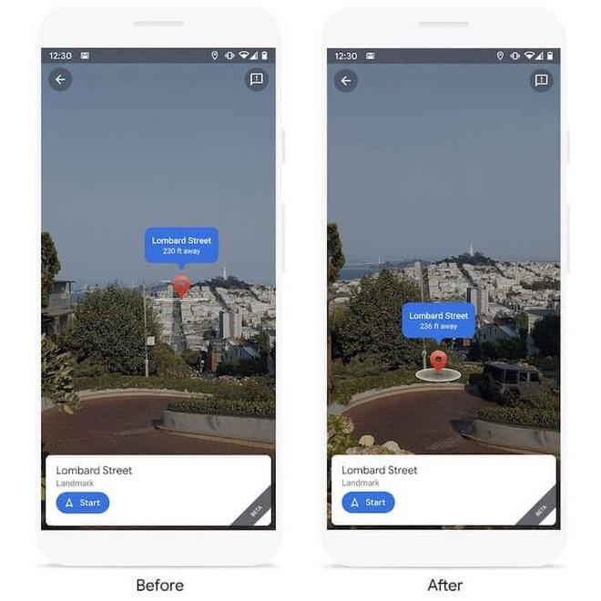 Google lại cho Apple hít khói khi tích hợp hình ảnh thực tế trên Google Maps - Ảnh 2.
