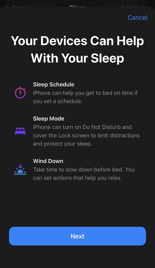 """iPhone có tính năng quản lý giấc ngủ cực xịn sò, """"cú đêm"""" phải đọc ngay! - Ảnh 1."""