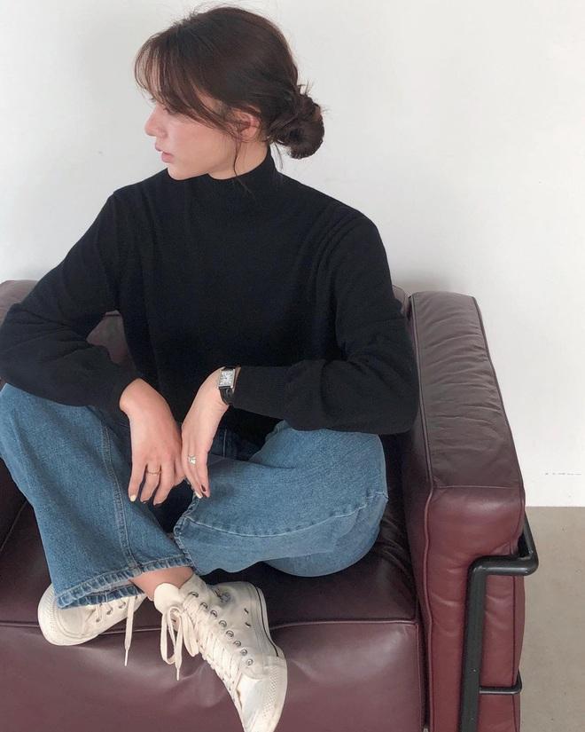 Có ít nhất 5 style giúp gái Hàn thoát cảnh tóc tĩnh điện mùa áo len, bạn có khi cũng nên thử - Ảnh 3.