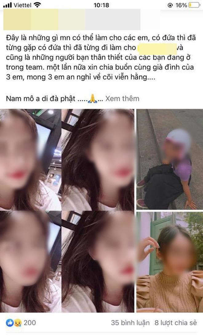 Bạn bè, người thân xót thương 3 cô gái trẻ t.ử v.ong trong vụ ch.áy quán bar X5 ở Vĩnh Phúc - Ảnh 3.