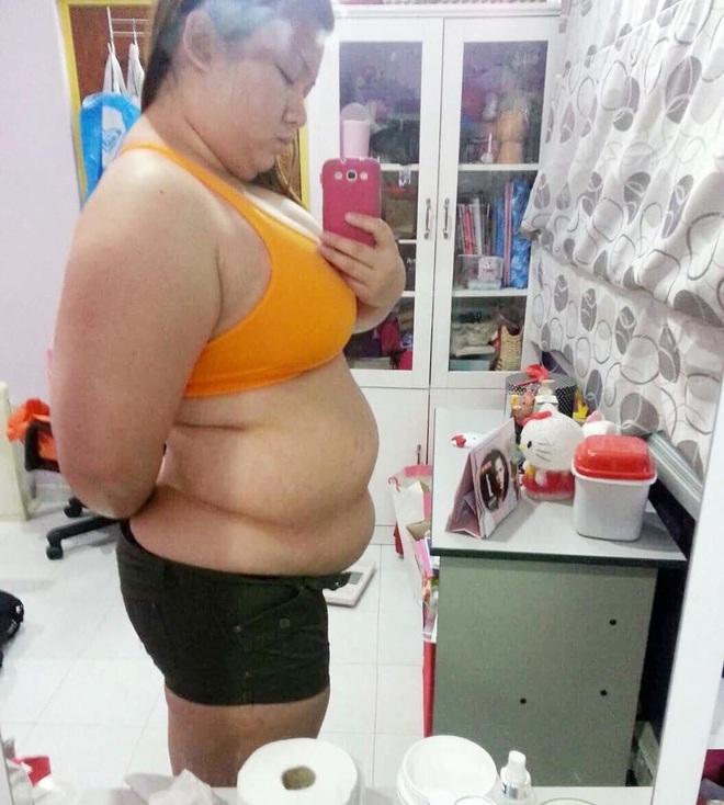 Từ 122kg xuống 68kg, cô gái người Malaysia chỉ cách giảm cân hiệu quả khiến ai nấy đều nể phục - Ảnh 2.