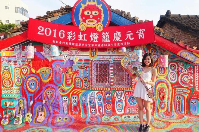 """Làng Cầu Vồng (Đài Loan): địa điểm du lịch cực """"đã mắt"""" với gam màu rực rỡ, chụp ảnh lên thì cứ gọi là ảo diệu - Ảnh 5."""