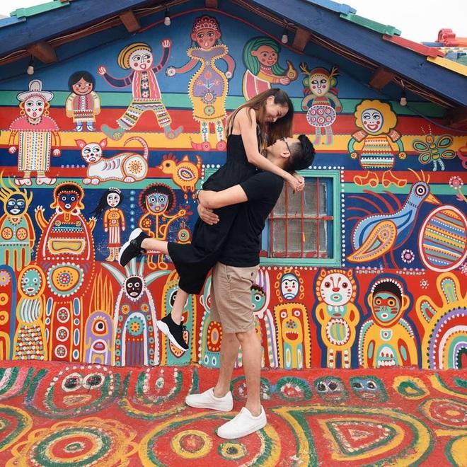 """Làng Cầu Vồng (Đài Loan): địa điểm du lịch cực """"đã mắt"""" với gam màu rực rỡ, chụp ảnh lên thì cứ gọi là ảo diệu - Ảnh 6."""