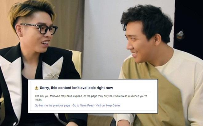 Fanpage Giọng ải giọng ai nhanh chóng tháo clip Trấn Thành mang chuyện Minh Béo lạm dụng trẻ em ra đùa giỡn - Ảnh 4.