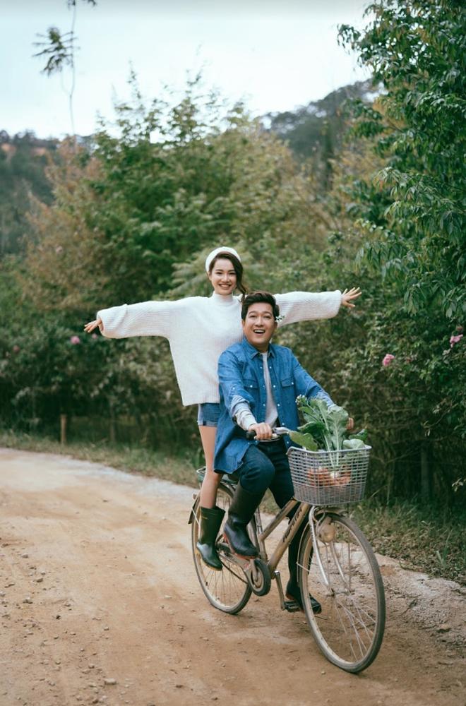 """Trường Giang - Nhã Phương tung bộ ảnh """"trốn con"""" mừng Valentine: Nhìn mà muốn cưới luôn và ngay! - Ảnh 9."""