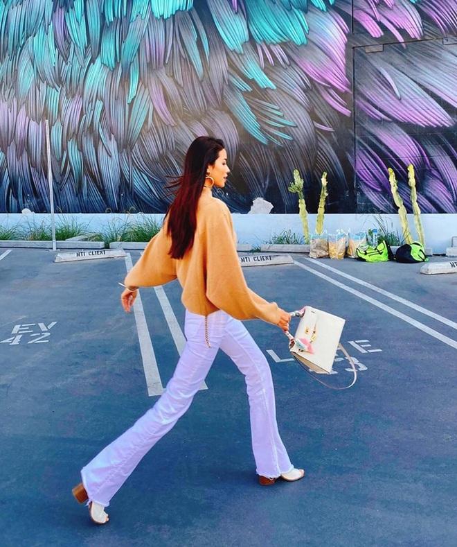 Gây sốt visual gái một con xuất thần chưa đủ, Phạm Hương còn khéo để lộ chi tiết chứng minh cuộc sống xa hoa ở Mỹ - Ảnh 4.