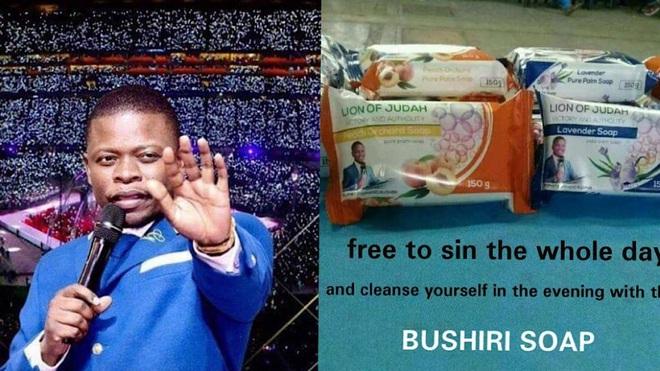 Nhà tiên tri vũ trụ châu Phi bị cáo buộc vì bán xà phòng có thể... rửa sạch mọi loại tội lỗi - Ảnh 1.