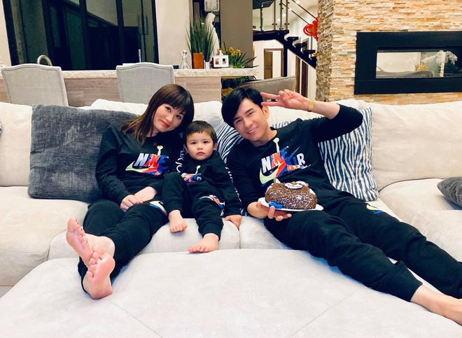 Vợ chồng Đan Trường tổ chức sinh nhật 3 tuổi cho quý tử tại biệt thự triệu đô ở Mỹ, tiết lộ chuyện chưa kể trong ngày sinh bé - ảnh 2