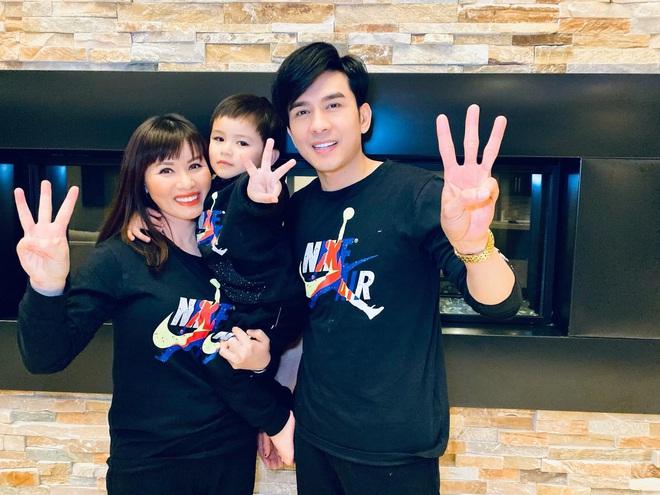 Vợ chồng Đan Trường tổ chức sinh nhật 3 tuổi cho quý tử tại biệt thự triệu đô ở Mỹ, tiết lộ chuyện chưa kể trong ngày sinh bé - ảnh 4