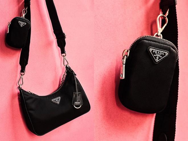"""Khỏi lùng túi vintage cho cực thân, Prada đã tái bản mẫu túi nylon huyền thoại với giá """"yêu thương"""", không giàu như các sao bạn vẫn tậu được - ảnh 1"""