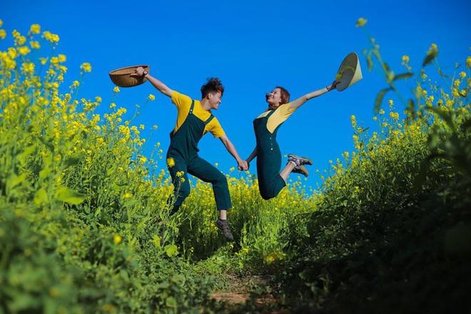 Dân mạng sửng sốt trước cánh đồng hoa cải vàng đẹp như tranh vẽ có thật tại Đà Lạt, xem ảnh mà ngỡ đâu nước Nhật xa xôi - Ảnh 11.