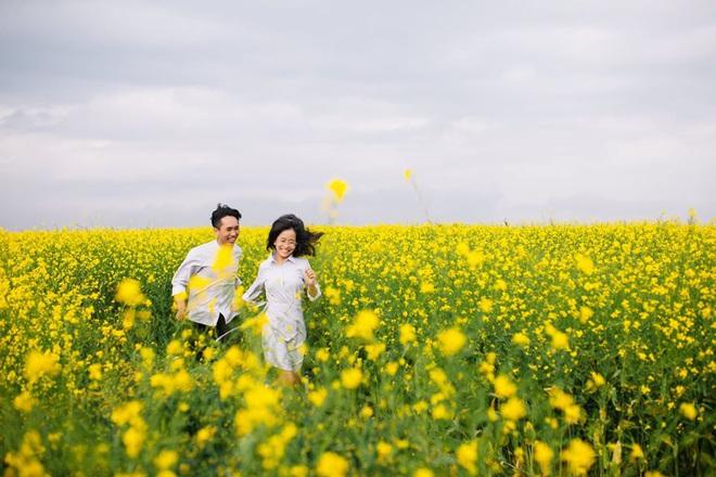Dân mạng sửng sốt trước cánh đồng hoa cải vàng đẹp như tranh vẽ có thật tại Đà Lạt, xem ảnh mà ngỡ đâu nước Nhật xa xôi - Ảnh 10.
