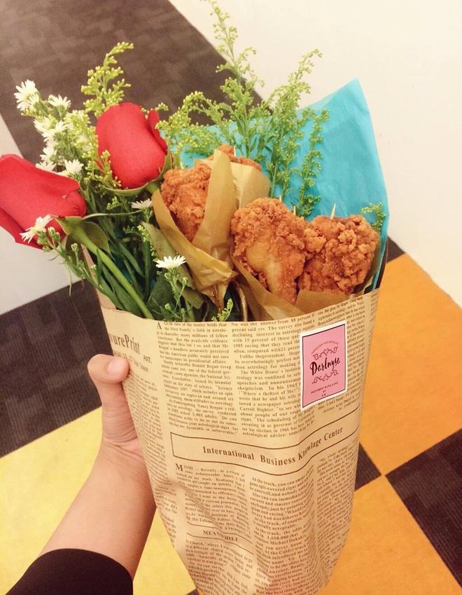 Nhìn những món quà Valentine độc lạ này mới hiểu vì sao người ta nói con đường ngắn nhất đến trái tim nhau là thông qua… bao tử! - Ảnh 5.