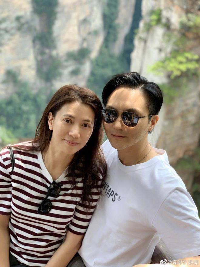 Mấy ai được như cặp Viên Vịnh Nghi - Trương Trí Lâm: 19 năm bên nhau nàng vẫn đỏ mặt, tim đập mạnh khi chụp ảnh với chàng - Ảnh 11.