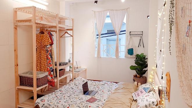 Mất 2 tuần và 10 triệu đồng, cô gái biến phòng trọ cũ kỹ thành không gian sống xinh xắn miễn bàn - Ảnh 2.