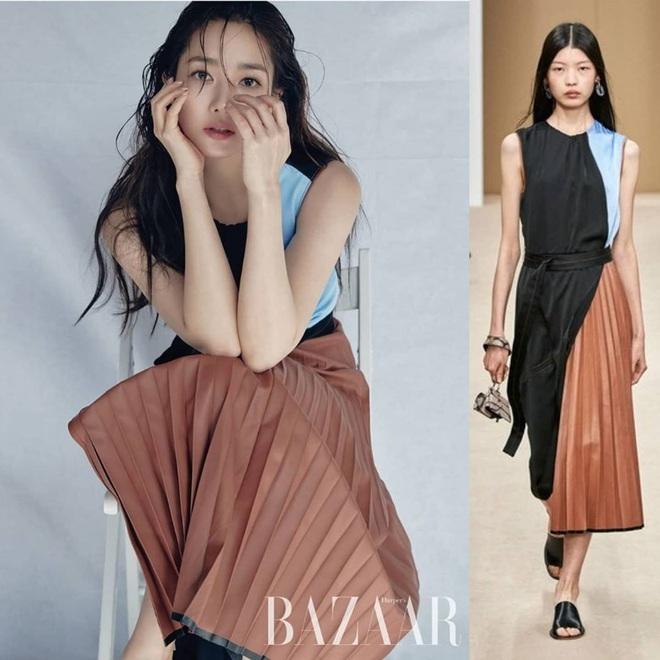 Hết chê Park Min Young được rồi, diện bộ nào cũng sang và đẹp hơn người mẫu, thần thái lại càng xuất sắc - Ảnh 7.
