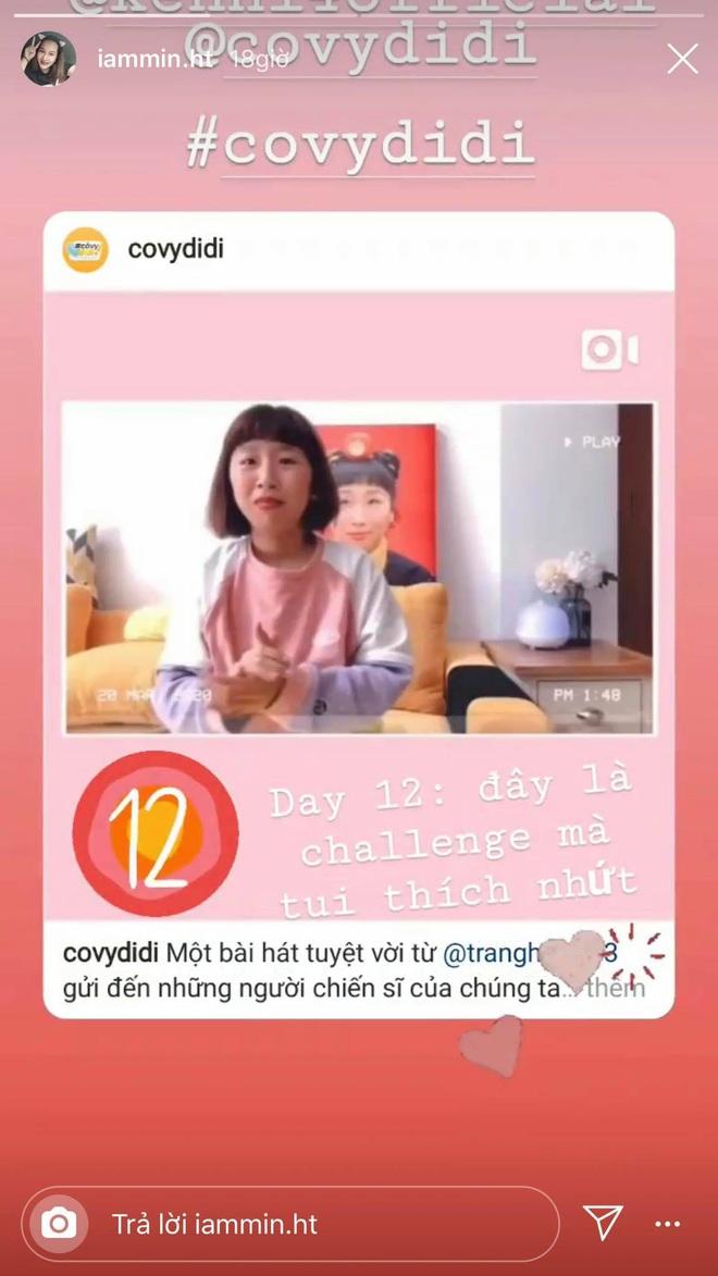 Challenge được yêu thích nhất Cô Vy Đi Đi: Bài ca cảm ơn các chiến sỹ chống dịch Covid-19 của Trang Hý đứng đầu bảng - ảnh 5
