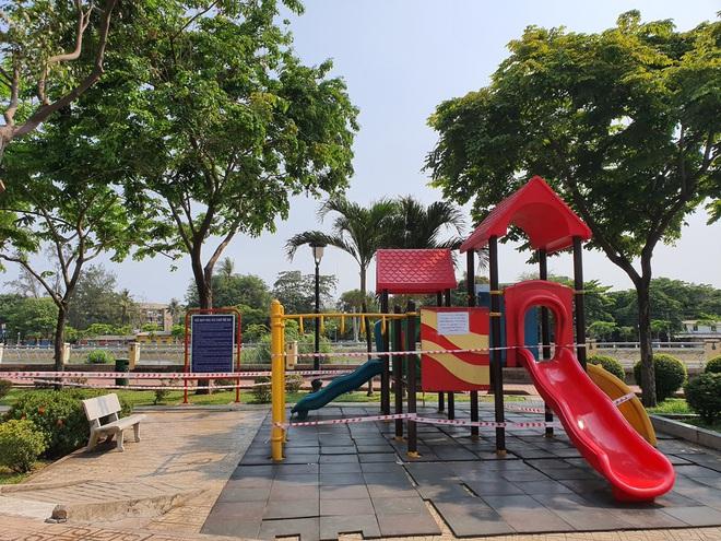 TP.HCM: Các khu tập thể dục, khu trò chơi thiếu nhi tại công viên chính thức ngưng hoạt động để phòng dịch Covid-19 - ảnh 5