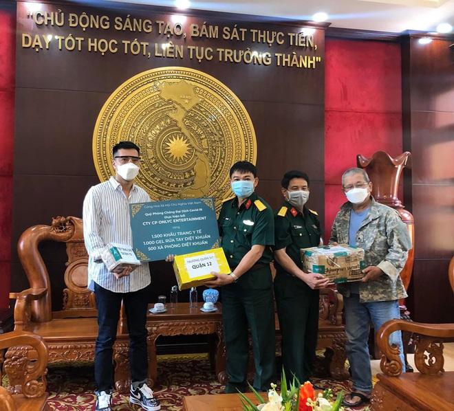 Lou Hoàng, Only C chung tay đóng góp hàng chục ngàn vật tư y tế hỗ trợ công tác phòng dịch Covid-19 - ảnh 1