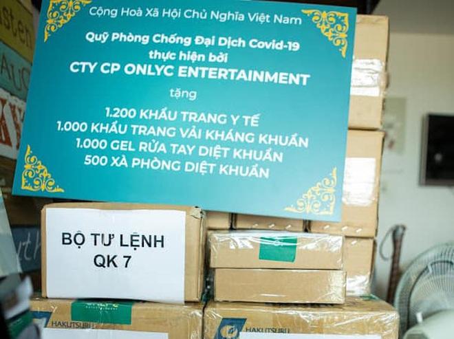 Lou Hoàng, Only C chung tay đóng góp hàng chục ngàn vật tư y tế hỗ trợ công tác phòng dịch Covid-19 - ảnh 4