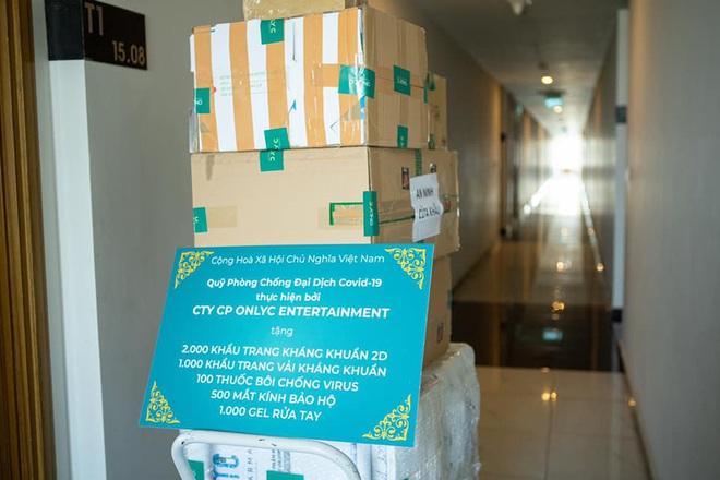Lou Hoàng, Only C chung tay đóng góp hàng chục ngàn vật tư y tế hỗ trợ công tác phòng dịch Covid-19 - ảnh 3