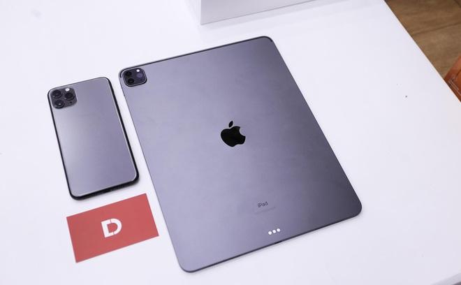 Trải nghiệm nhanh iPad Pro 2020 đầu tiên tại Việt Nam, khác biệt với cụm camera sau, giá từ 26,9 triệu đồng - ảnh 2