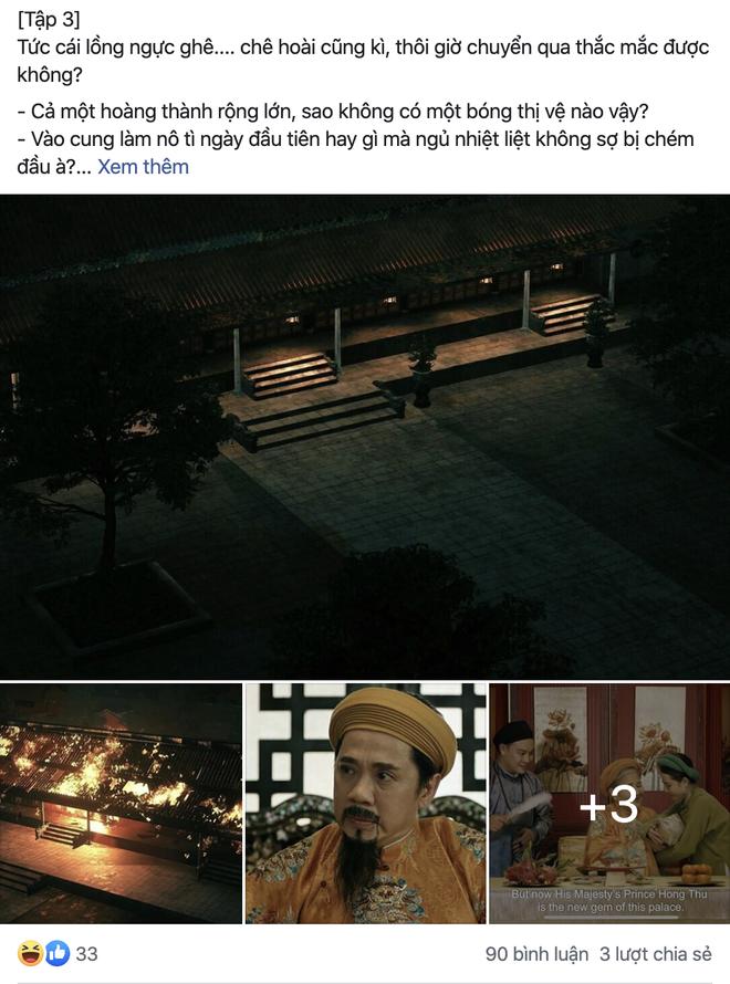 Antifan Phượng Khấu lập fanpage chê phim sai lệch lịch sử, so sánh chuyên nghiệp cả về sạn kĩ xảo - ảnh 2
