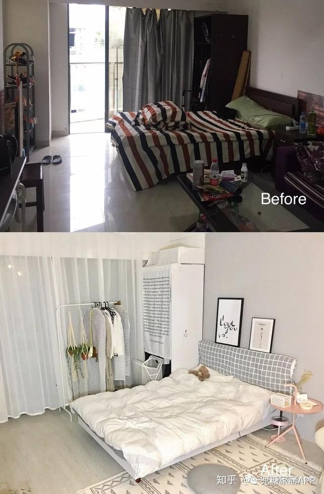 Cô gái dùng nửa tháng biến căn phòng trọ lộn xộn thành nơi xịn chẳng kém gì homestay: Thế này mới đáng sống chứ! - ảnh 1