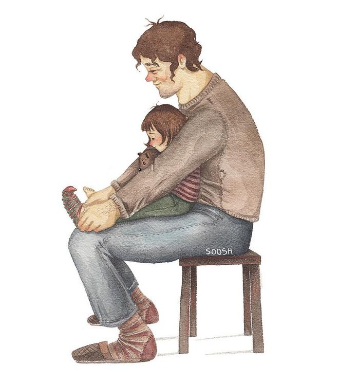 Những mẩu chuyện nhỏ nói với bạn rằng: Nhà là nơi có người bảo vệ bạn hết mình, yêu thương bạn vô điều kiện - ảnh 5