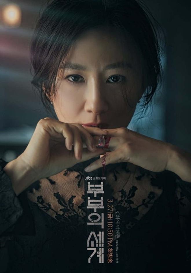 Phim 19+ Thế Giới Hôn Nhân: Màn tái xuất nóng bỏng của Kim Hee Ae, drama tiểu tam khiến chị em vừa xem đã muốn ở giá! - ảnh 1