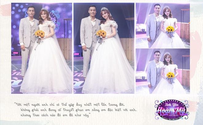 Hé lộ bộ ảnh cưới khiến Cao Xuân Tài mất đi nụ hôn đầu, cô dâu cài làm hình nền nhưng không quên đính chính! - ảnh 1