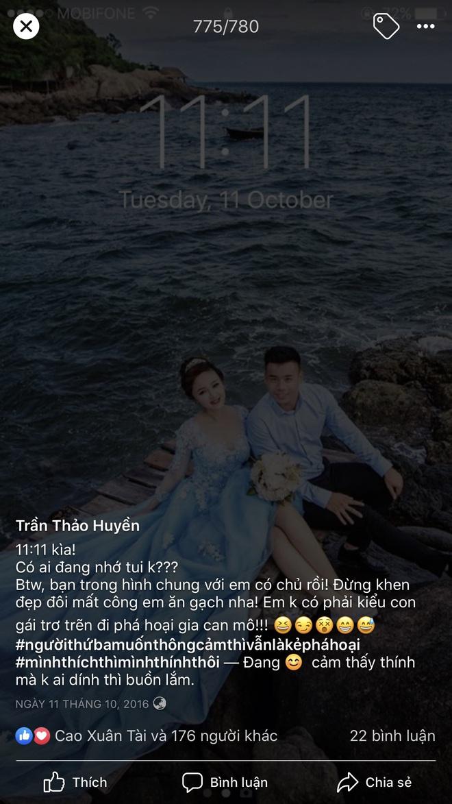 Hé lộ bộ ảnh cưới khiến Cao Xuân Tài mất đi nụ hôn đầu, cô dâu cài làm hình nền nhưng không quên đính chính! - ảnh 4