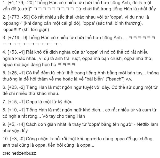 Dịch giả Parasite đau đầu vì từ oppa, fan Việt cà khịa sương sương: Mời anh sang học tiếng nước em! - ảnh 3