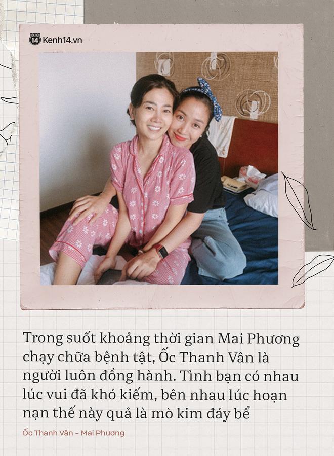 Có 2 người bạn tri kỷ luôn ở bên cố diễn viên Mai Phương lúc đau đớn, tràn lệ vì bệnh tật cho đến khi nhắm mắt xuôi tay - ảnh 1