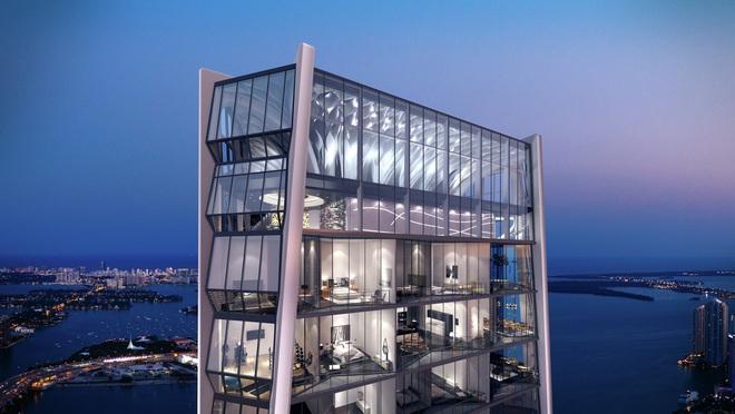 Choáng với căn hộ siêu khủng nhà Beckham mới tậu: Nằm trên tòa tháp cao nhất thành phố, phòng ốc rộng mênh mông lại có chỗ đáp trực thăng riêng - ảnh 1
