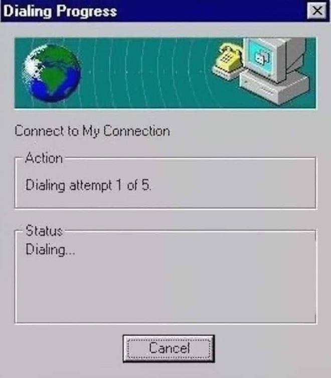 Internet thế hệ giao thức cũ với tốc độ tải file lên tới vài chục năm... đã quá là bình thường và quen thuộc với các chú bác ngày nay.