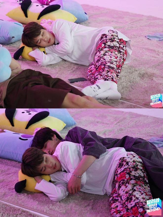 """Jimin - Jungkook (BTS) dắt tay nhau lên top trend thế giới nhờ cảnh """"giường chiếu"""" trên show thực tế: Thuyền Jikook ra khơi! - ảnh 2"""