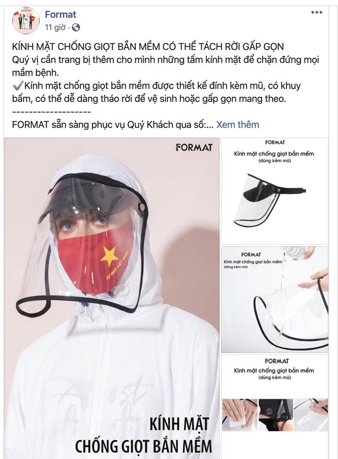 Loạt thương hiệu thời trang trong nước cùng tung ra bộ giáp phòng dịch, trông ngầu hết sức mà giá cả lại cực phải chăng - ảnh 5