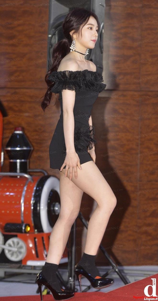 """Suốt ngày đổi mốt nhưng riêng """"truyền thống"""" mặc váy ngắn quá trời ngắn của sao Hàn là không bao giờ thay đổi - Ảnh 4."""