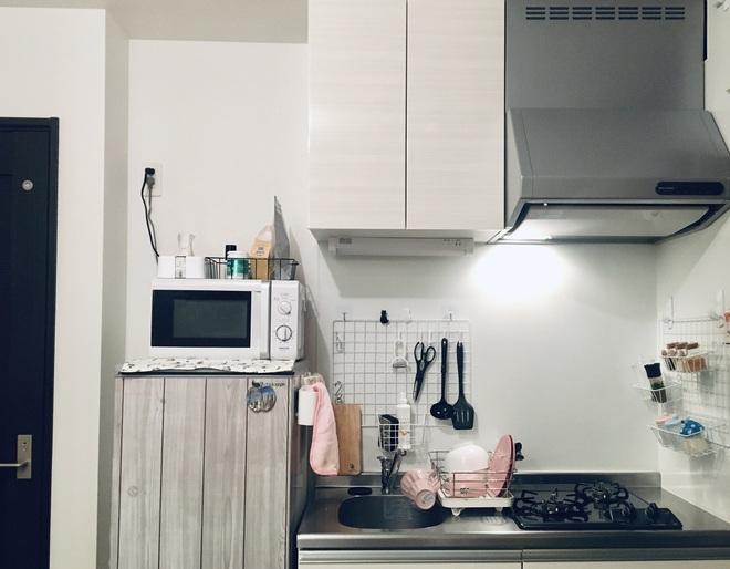 Nữ du học sinh Nhật Bản cải tạo nhà trọ cũ kỹ thành nơi vừa chill vừa sang, chi phí mới là điều bất ngờ nhất - Ảnh 1.